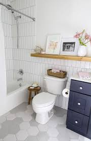 Design Sponge Bathrooms Grout And New Tile Create Fresh Bathroom Look