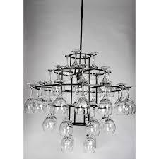 chandelier light wine glass hanging wine glass chandelier light restaurant lighting trade model 7