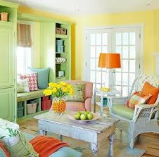 Living Room: Chic And Colorful Living Room For Spring - 15 Chic ...
