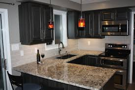 Antico Bianco Granite Kitchen Kitchen Renovation Makeover In Orillia Ontario Kitchen Cabinets