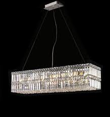 modern contemporary dining room linear crystal chandelier pendant with inspirations 4