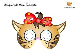 1) if you have javascript enabled you can click the print link in the top half of the page and it will automatically print the coloring page only and ignore the advertising and navigation at the top of. Free Printable Masquerade Masks Template 123 Kids Fun Apps