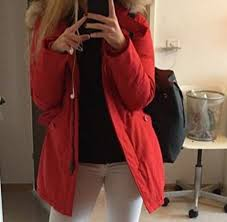 jacket winter outfits fall outfits red winter jacket fur fur coat wheretoget