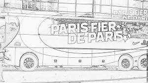Colorier Logo Psg Coloriage Paris Saint Germain écusson Du