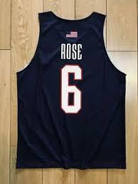 American Rose Size Chart Details About Derrick Rose 6 Usa Team Jerseys D Rose Training American Basketball Shirts