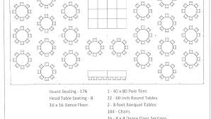 round table seating sample business plan template restaurant dining woodworking dinner chart wedding