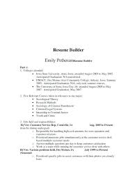 Resume Online Free Download Create Resume Online Free Download A And