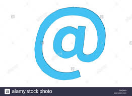 Email Light At Mail Icon Or Email Mark Sign Symbol In Minimalist Design