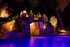 tropical outdoor lighting. chic low voltage landscape lighting in pool tropical with next to grotto alongside and outdoor g