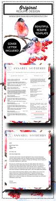 17 best ideas about online resume template annabel sotherby beautiful resume and cover letter template for microsoft word apple pages indesign in a4 and us letter size