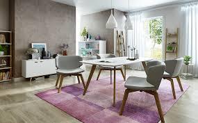 eye catching modern dining room decor in purple dining room decor eye catching modern