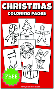 Christmas Coloring Paper Christmas Coloring Pages Free Printable Gift Of Curiosity