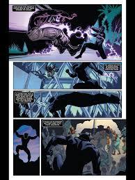 Black panther comic strip