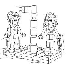 Lego Friends Kleurplaten Meisjes