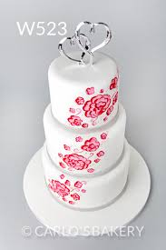Carlos Bakery Modern Wedding Cake Designs
