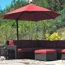 offset patio umbrellas popular patio umbrella awesome black 11 ft fset patio umbrella with