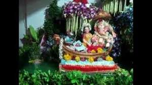 ganpati decoration at home 2010 boat river jungle fountain jay