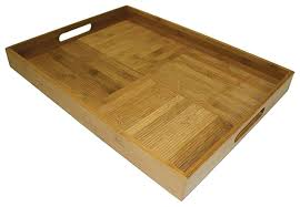 Wooden Trays To Decorate Large Wood Tray For Ottoman Coffee Tables Decorative Serving Trays 55