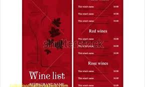 Free Wine List Template Download Top Result Wine Dinner Menu Template New Templates Free Documents