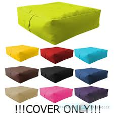 waterproof bean bag cover only unfilled beanbag garden cushion seat rh co uk how to make garden chair cushion covers garden furniture cushion covers