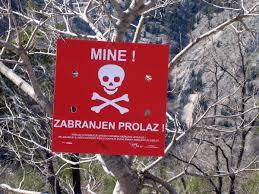 Image result for croatia landmines