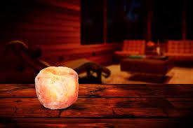 Hemingweigh Himalayan Natural Crystal Salt Rock Tea Light Candle Holder Hemingweigh Himalayan Natural Crystal Salt Rock Tea Light