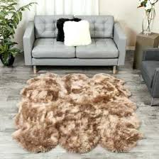 large sheepskin rug 6 pelt ft special ireland rugs c
