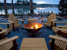 33 burning bowl of fire outdoor fireplace homebnc
