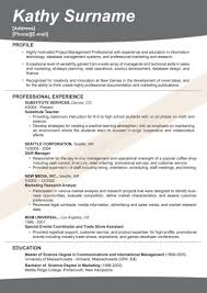 Effective Resume Format – Infoe Link