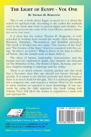 Amazon Com The Light Of Egypt Volume One The Science Of
