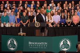 assessing president obama s far reaching impact on higher education president obama in 2013 at binghamton university