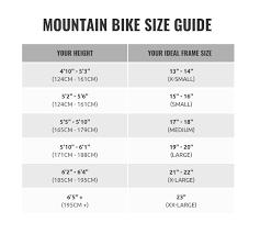 Trek Mountain Bike Size Chart Gary Fisher Superfly 29er Full