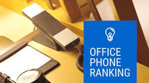 こんなデザインのものもオフィスに置いてみたいおしゃれな電話機