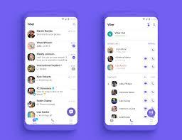 Chat Ui Design Android Viber 10 Introduces Hidden Numbers In Communities Group