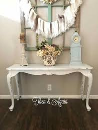 Shabby Chic Entry Table.