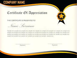 Certificate Of Appreciation Template For Word Fascinating Free Certificate Of Appreciation Certification Template Word