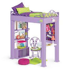 American Girl McKenna's LOFT BED SET Desk Bedding BEDROOM 32 pc for ...