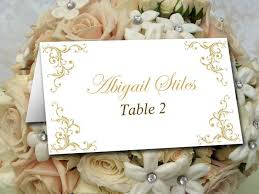 wedding table cards template gold place card template wedding printable escort card template