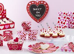 See more party ideas and share yours at catchmyparty.com #catchmyparty #partyideas. Valentine S Day Baking Party Ideas Party City