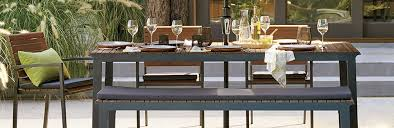crate and barrel outdoor furniture. Perfect And Faux Wood Outdoor Furniture Rocha On Crate And Barrel Furniture