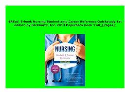 Download P D F Nursing Student Amp Career Reference