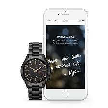 michael kors access activity trackers smartwatches ernest jones men s smartwatches by michael kors access