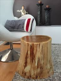 trunk table furniture. stump side table log furniture tree trunk ecofriendly f