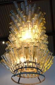 one other image of beer bottle chandelier diy