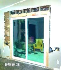 cost of sliding patio doors installing a sliding patio door installing a sliding patio door patio