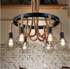 sputnik ceiling lamp fixture loft satellite handing chandelier lighting edison light