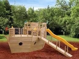 pirate swing set elite ship