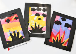 no glue or scissor skills are required so this craft is easy to clean up and perfect for kids of all ages we made a stained glass paper