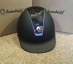 Samshield Helmet Size Chart Samshield Shadowmatt Shimmer Top With Chrome Blue 255