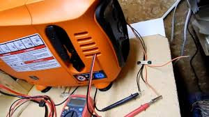 Generac Ix2000 Overload Light Stays On Generac Ix800 Internal Alternator Voltage Test